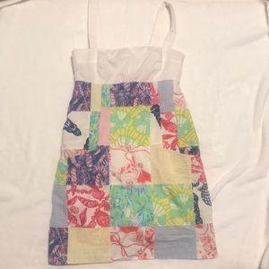 Lilly Pulitzer Yesenia Multi Patchwork Dress